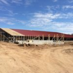 Construction of Special Needs Barn April 25, 2015