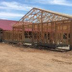 Construction of Special Needs Barn May 4, 2015