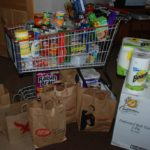 Donations from fundraiser for Food Pantry